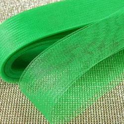 Зеленый регилин ширина 4см