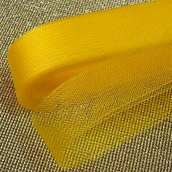 Желтый  регилин ширина 4см
